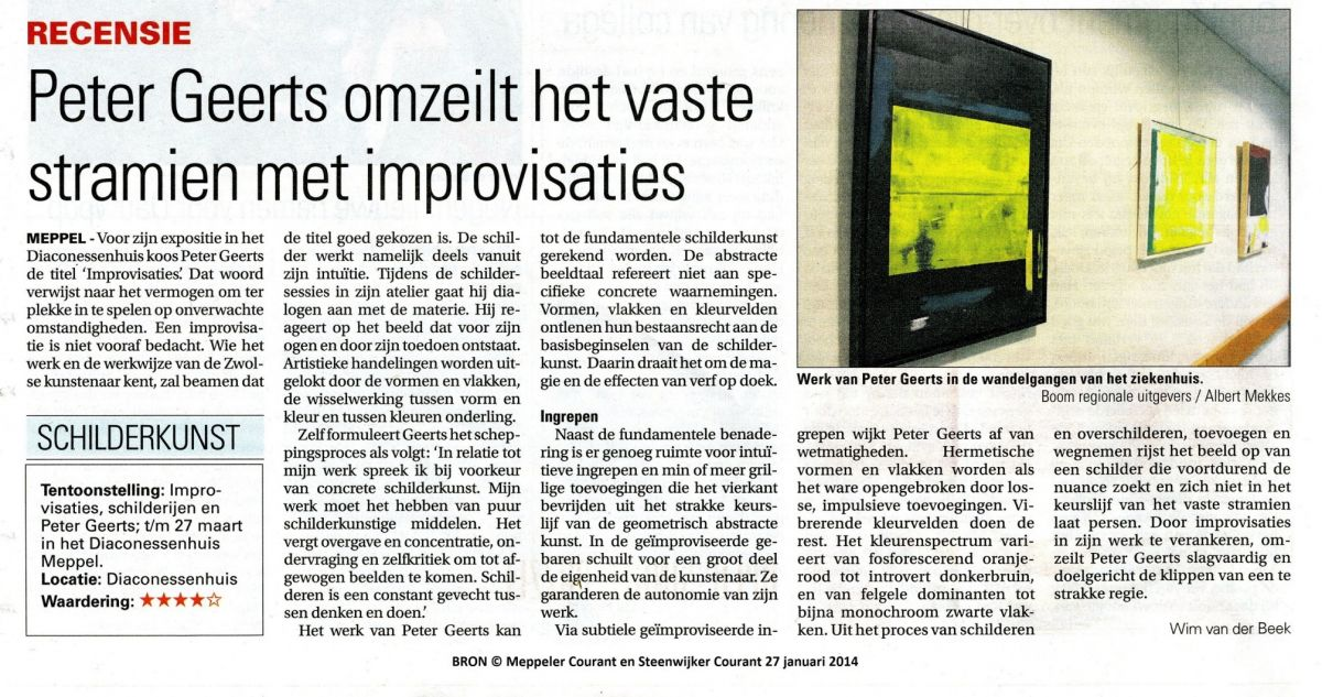 (interne memo: foto 2014 review Meppeler Courant)