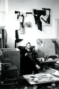 Peter Geerts - 1984 atelier Emmanuelshuizen (photo Anne Kreiter)
