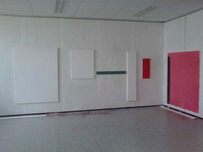 Peter Geerts - 2007 nieuw atelier | new studio