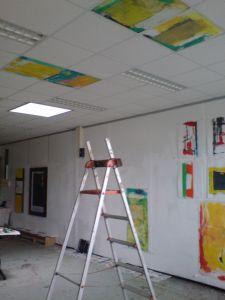 Peter Geerts - http://petergeerts.nl/work/systeem-plafond-schildering-books-unlimited/