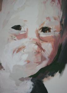 Peter Geerts - 2004 Portret van een jongen | Portrait from a boy | oil/canvas Private collection