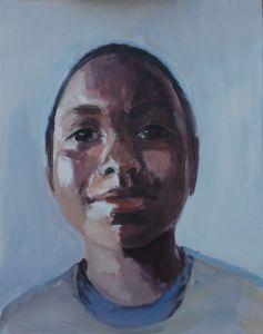 Peter Geerts - 2012 Portret van een jongen | Portrait van een jongen | oil/canvas Private collection