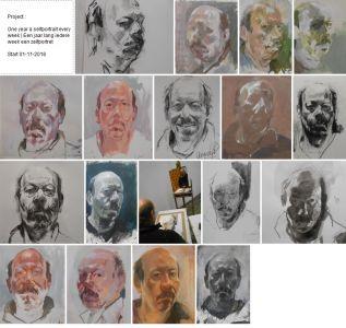 Peter Geerts - Project One year a selfportrait every week | Een jaar lang iedere week een zelfportret Start 01-11-2018 [Link https://www.petergeerts.nl/work/portret-project-portrait-project] [i]link naar het project | link to the project[/i] [/link]