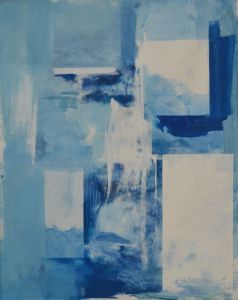 Peter Geerts - 2020 untitled 150 x 120 cm oil/canvas